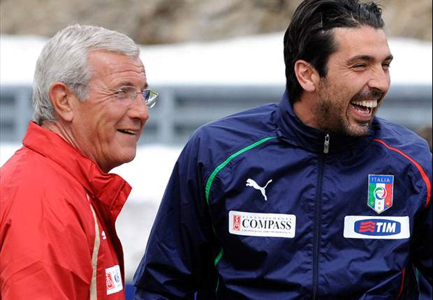 "Italy Goalkeeper Gianluigi Buffon Defends Marcello Lippi, Calling Him ""A Winner"""
