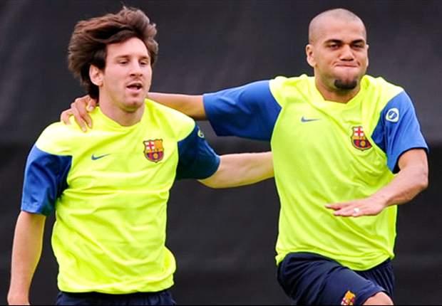 Lionel Messi Perpanjang Kontrak, Dani Alves Senang