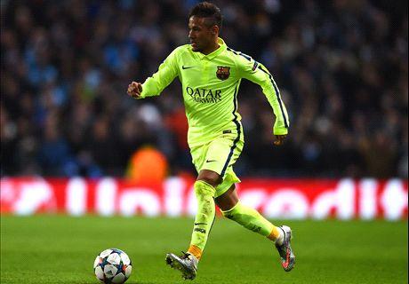Neymar in spat with Man City fan