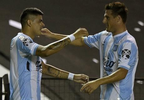 Libertadores: Racing 4-1 Guaraní