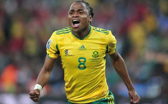 First goal scorer of World Cup 2010 - Siphiwe Tshabalala - South Africa (Getty Images)