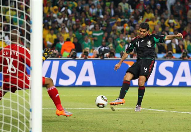 World Cup 2010: Mexico Defender Rafael Marquez Plots To Halt Barcelona Team-Mate Lionel Messi