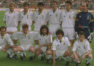 La formazione di Parma-Anversa, finale di Coppa delle Coppe 1993