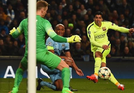 Genius Moment: Suarez' Doppelpack