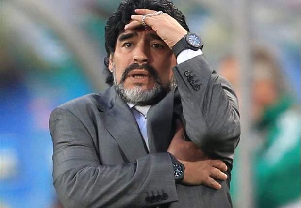 """Argentina: """"Hoy nos perdonaron"""", reconoce Maradona"""