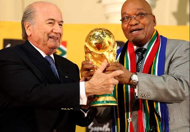 FIFA president Sepp Blatter hails 'special & emotional' World Cup 2010