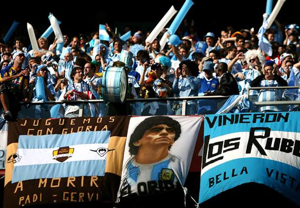 'Love, devotion and song' - why Argentina fans stand out from the crowd
