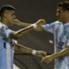 Gustavo Bou Ivan Pillud Racing Guarani Group 8 Copa Libertadores 24022015