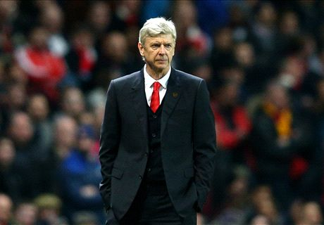 Wenger and Arsenal stuck in defeat