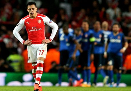 Arsenal on the brink after shock collapse