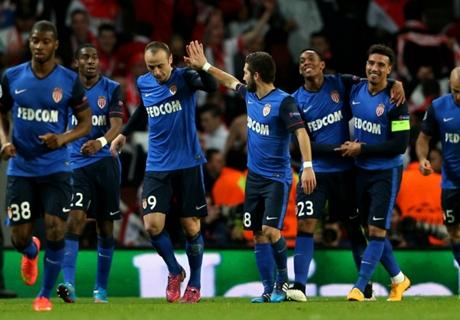 FT: Arsenal 1-3 Monaco