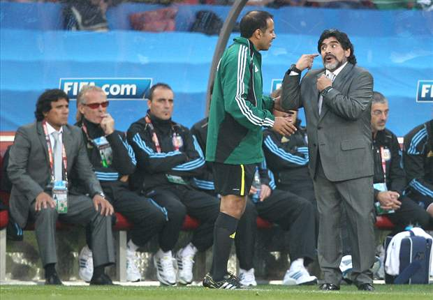 World Cup 2010: Argentina coach Diego Maradona pleased with 'mature' Lionel Messi