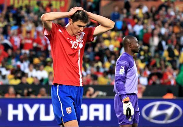 Serbien hat keine Chance mehr auf ein WM-Ticket