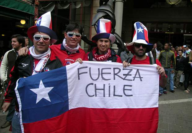World Cup 2010: Chile Supporters Believe In An Upset Against Brazil