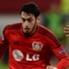 Bayer Leverkusen forward Hakan Calhanoglu