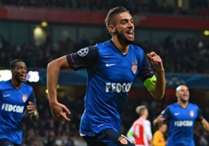Yannick Ferreira Carrasco (90') | Arsenal 1 Monaco 3 | Champions League | Emirates Stadium