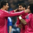 The Champions League knockouts got off to a flyer with some shock results and sensational performances. Goal presents the standout performers from the first leg of the last-16 ties, in a 4-3-3 formation...