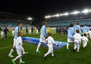 Ook de wedstrijd tegen Manchester City werd voor lege tribunes gespeeld.
