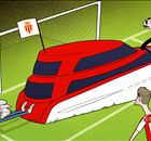 Cartoon: Berba & Monaco park the yacht