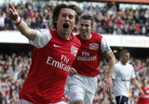On February 26, 2012 | Arsenal came back from 0-2 down to beat Tottenham 5-2 in a classic at the Emirates, scoring five times in an incredible 27-minute spell.