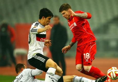 UEL: Besiktas 1-0 Liverpool