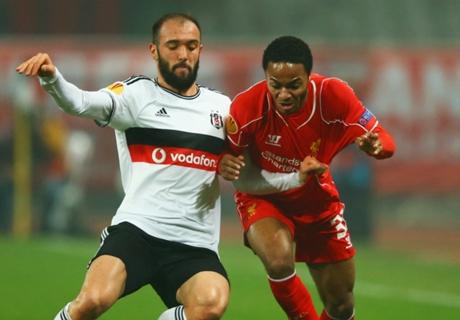 Résumé de match, Besiktas-Liverpool (1-0 a.p.t.b.5-4)