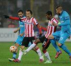 Spelersrapport: FC Zenit - PSV