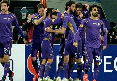 Fiorentina Singkirkan Tottenham