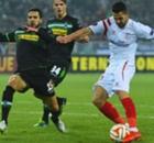 Gladbach 2-3 Sevilla (agg. 2-4): Vitolo double