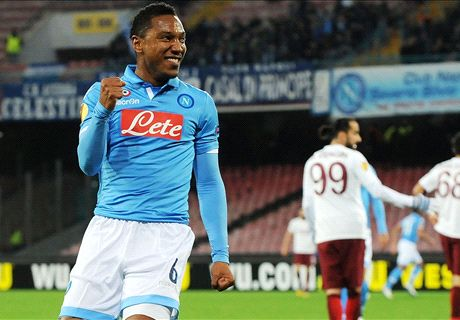 De Guzman on target as Napoli cruise
