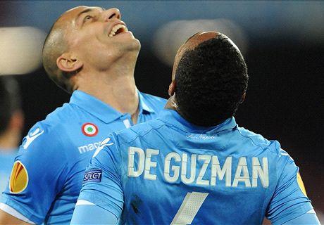 De Guzman chiude la pratica, Napoli ok