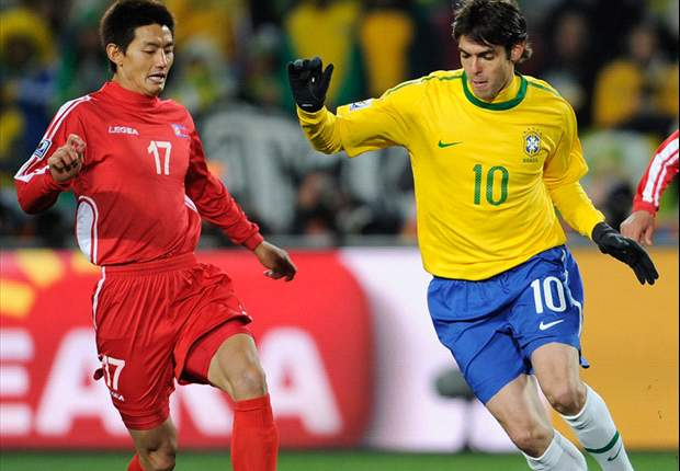 World Cup 2010: Brazil stars Kaka & Robinho insist win over North Korea is a good result