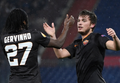 Gervinho the hero for Roma