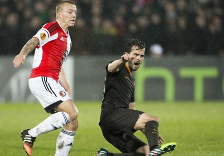 Ratings: Feyenoord 1-2 Roma (agg 2-3)