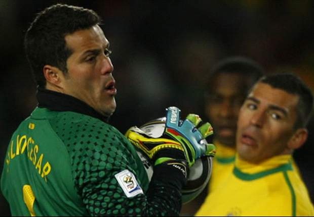 Brazil's Julio Cesar: Team has work to do to improve after Paraguay tie