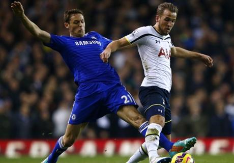 Chelsea & Spurs' best combined XI