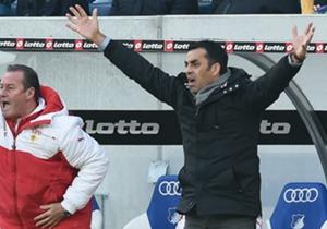 Mit der Leistung des VfB Stuttgart in Hannover zufrieden: Robin Dutt