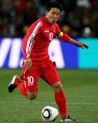 Yong Jo Hong, North Korea International
