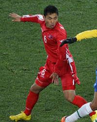 Kim Kum Il, South Korea International