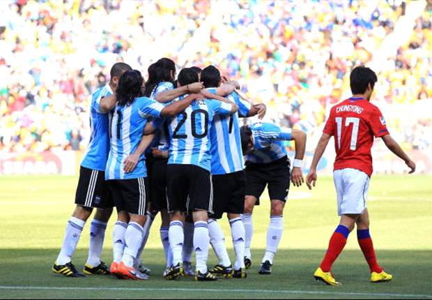 World Cup 2010: South Korea victory sees Argentina set new national record