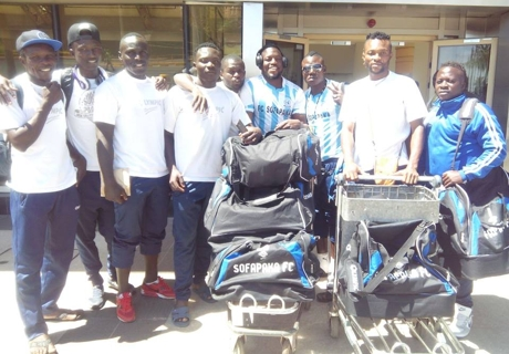 Sofapaka FC finally leave for Zimbabwe