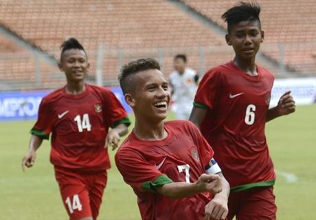 Timnas Indonesia U-16 Bekuk Persib U-16