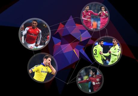 Votez pour le but de la semaine en Ligue des champions UEFA !