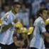 El goleador de la Academia festeja uno de sus tantos frente a Guaraní.