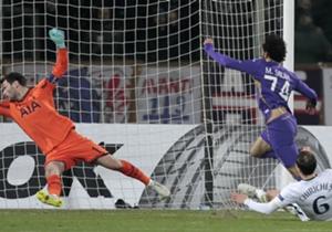 MOHAMED SALAH | FIORENTINA-Tottenham 2-0 | 1 goal, 5 dribbling