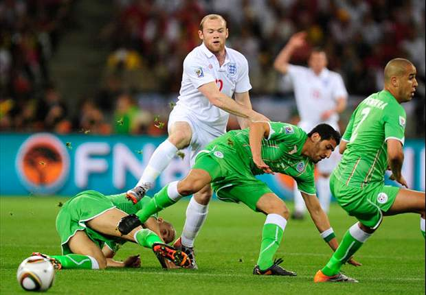 England 0-0 Algeria: Nervous Three Lions Freeze In Tournament Headlights