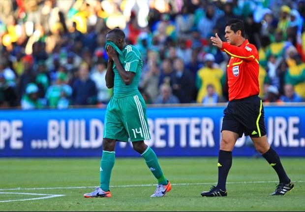 Sani Kaita and Dickson Etuhu arrive in Nigeria camp ahead of Rwanda game