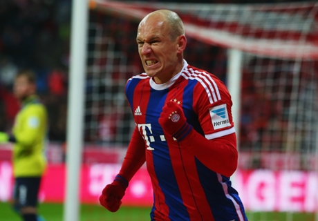 Robben runs riot as Bayern crush Koln