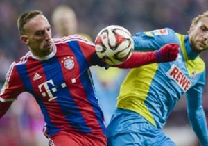 Der Erste darf auch zuerst: Spitzenreiter Bayern München eröffnete den 23. Bundesliga-Spieltag und ließ sich auch von einer starken Kölner Phase nach der Pause nicht verwirren. Hier sind die Bilder des Abends!