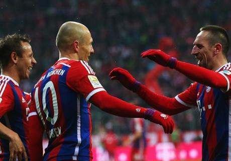 Robben, Dost, Messi et les joueurs les plus décisifs du mois de février 2015